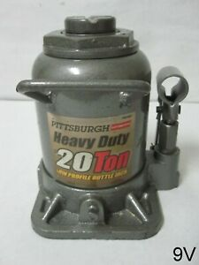 Pittsburgh 20 Ton Hydraulic Low Profile Heavy Duty Bottle Jack Without Lever