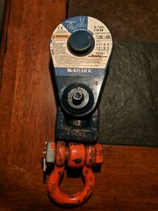Crosby Mckissick Snatch Block Pully N419 3in 2 Ton