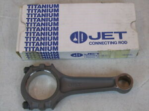 New Jet 6 0 Titanium Sbc Connecting Rod Chevy Race Road Racing Circle Oval Track