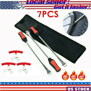 Tire Spoons Lever Iron Tool Kit Motorcycle Bike Professional Tire Change Kit