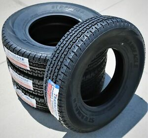 4 Transeagle St Radial Ii Steel Belted St 235 80r16 Load E 10 Ply Trailer Tires