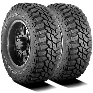 2 New Mastercraft Courser Mxt Lt 305 60r18 Load E 10 Ply M t Mud Tires