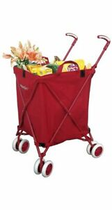 The Original Versacart Transit Folding Shopping And Utility Cart