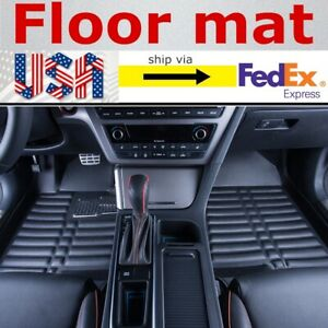 Car Floor Mats Front rear Liner Waterproof Mat Fit For Toyota Camry 2007 2011