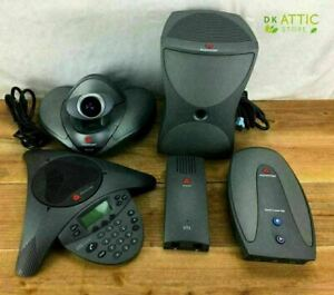 Polycom Vsx 7000 Video Conferencing System Multiple Components