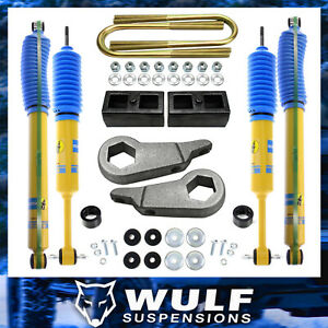 Wulf 3 Front 2 Rear Leveling Lift W Bilstein Shocks Kit For 98 11 Ford Ranger