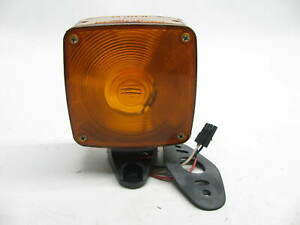 Vintage Kd Lamps Kd764 Double Faced Amber Fender Mount Turn Signal Light