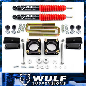 Wulf 3 Front 3 Rear Lift Kit Ft Diff Drop Shocks For 07 18 Toyota Tundra 4wd