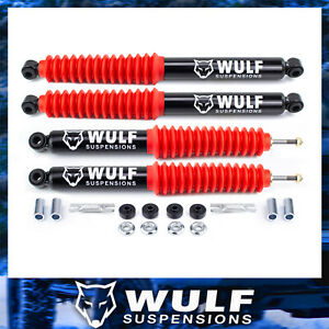 Wulf Extended Shocks For 1 2 Lift Kits Fits 98 11 Ford Ranger Coil Suspension