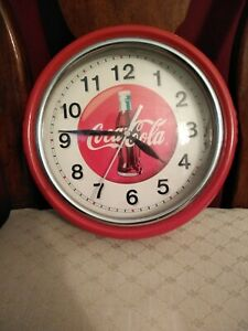 Coca Cola Clock collectible