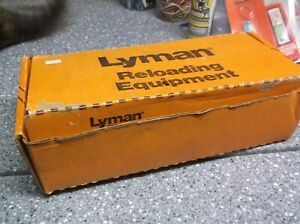 Lyman reloading tool in box and extras  450 press sizer lubricator