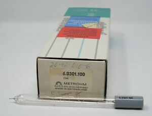 Metrohm 6 0301 100 Separate Pt wire Electrode