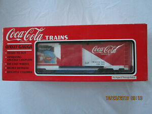K-Line Coca Cola Christmas Box Car 1996 K621-5101