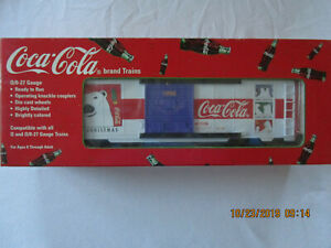 K-Line Coca Cola Christmas Box Car 1998 K641-5106