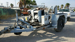 Hogg Davis H 135 Power Reel Cable Trailers 20 000 Lbs Line Pulling Capacity