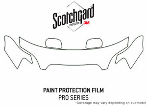 3m Pro Shield Paint Protection Kit For Subaru Outback 2000 2004 Hood Clea