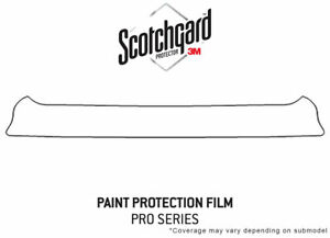 3m Pro Shield Paint Protection Kit For Scion Tc 2014 2016 Trunk Sill Clear Bra