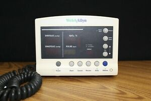 Welch Allyn 52000 Vital Signs Patient Monitor No Power Supply