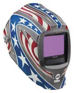 Miller Electric 280049 Auto Darkening Welding Helmet Lithium 5a