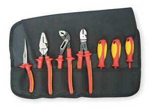 Knipex 9k 98 98 26 Us Insulated Tool Set 7 Pc Standards Astm F 1505 Iec