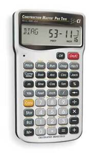 Calculated Industries 4080 Construction Calculator 6 Lx3 1 4 In W