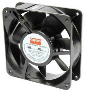 Dayton 2rtk6 Axial Fan Square 115vac 1 Phase 124 Cfm 4 11 16 W