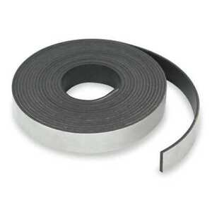 Zoro Select 6ya19 Magnetic Strip 100 Ft L 1 2 In W