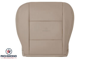 For 2002 2003 2004 Toyota Land Cruiser driver Side Bottom Leather Seat Cover Tan