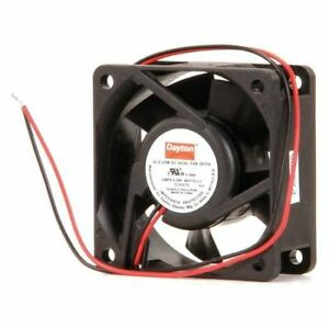 Dayton 2rtf9 Axial Fan Square 12vdc Phase 31 5 Cfm 2 3 8 W