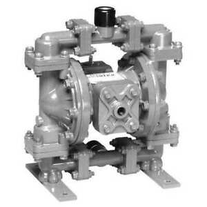 Sandpiper S05b1s2tans000 Double Diaphragm Pump Stainless Steel Air Operated