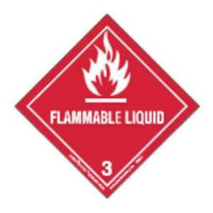 Labelmaster Hml6 Flammable Liquid Label 100mmx100mm 500