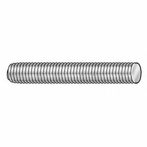 Zoro Select 11148 3 4 10 X 12 Plain 316 Stainless Steel Threaded Rod