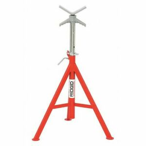 Ridgid 56662 V head Pipe Stand 1 8 To 12 In
