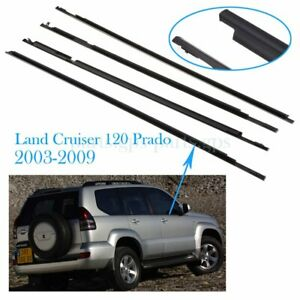 Us door Belt Molding Weatherstrips For Toyota Land Cruiser 120 Prado 2006 2007