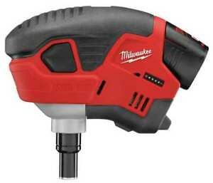 Milwaukee 2458 21 M12 12v Cordless Palm Nailer Kit 1 1 5ah Battery Soft