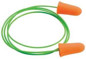 Moldex 6840 Mellows Corded Ear Plugs 30db Rated Tapered Shape Pk 100