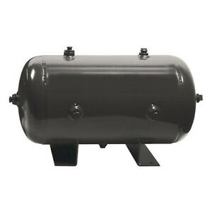 Speedaire 1tzy6 Air Tank stationary 175 Psi 2 Gal horiz