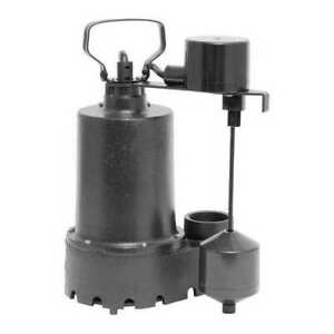 Dayton 92372 Sump Pump thermoplastic 1 3 Hp