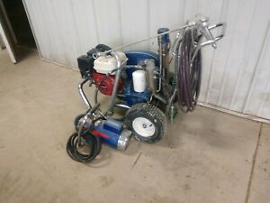 Graco Gh200 Convertible Hydraulic Airless Gas Paint Sprayer and Electric