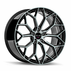 22 Gianelle Monte Carlo Machined 22x9 22x10 5 Wheels Rims Fits Dodge Charger