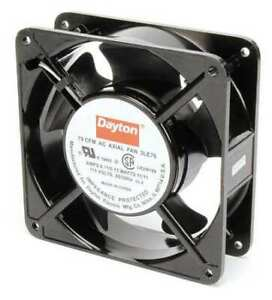 Dayton 3le76 Axial Fan Square 115vac 1 Phase 78 Cfm 4 11 16 W