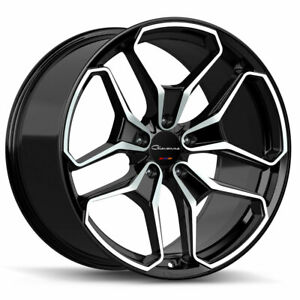 22 Giovanna Huraneo 22x9 22x10 5 Concave Wheels Rims Fits Benz S400 S550 S600