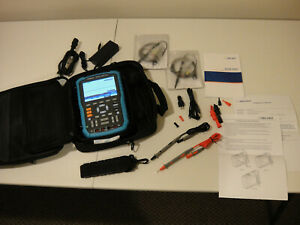 Siglent Shs806 Handheld Oscilloscope Multimeter 2 Channels 1 Gsa s 60mhz Shs 806