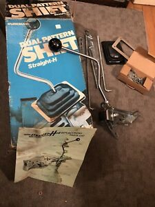 Rare Vintage 3 Speed Sparkomatic Dual Pattern Straight H Sh5 Shifter Eh05