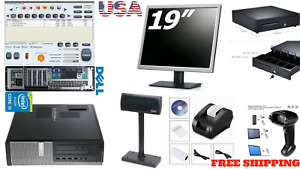 Low Price Full Pos All in one Point Of Sale System Combo Kit Retail Store Pole