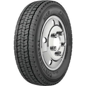 Continental Hsr 225 70r19 5 Load G 14 Ply Steer Commercial Tire