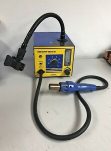 Genuine Hakko Hot Air Smd Rework Station Fr 801 Esd Safe Analog 110v