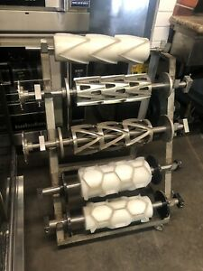 Rheon Sheeting Line Croissant Danish Roller Cutter Mould Bakery Equipment Pastry