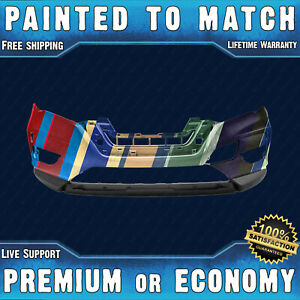 New Painted To Match Front Bumper Cover Replacement For 2017 2019 Nissan Rogue