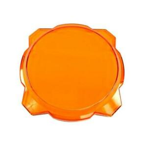 Kc Hilites 6 In Amber Pro 6 Gravity Led Light Shield Cover 5112